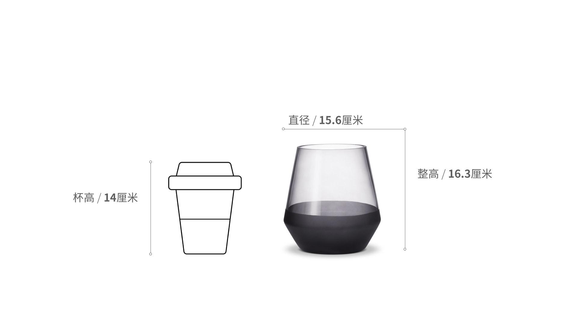 冰川花瓶小号装饰效果图