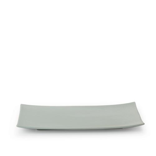 折简浸釉餐具组®丨大长方平盘
