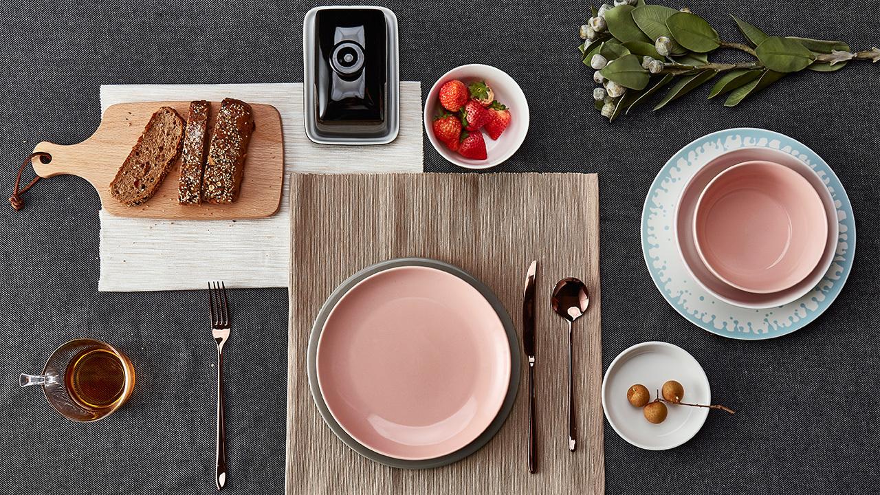 湖海餐具组 | Aqua Tableware