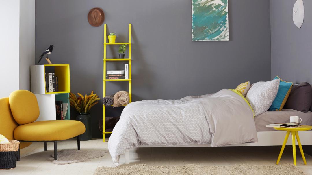 一点柠黄,让卧室灵动起来