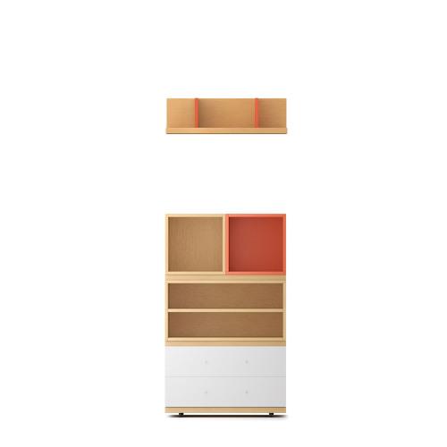 COSMO书柜-1.35米高