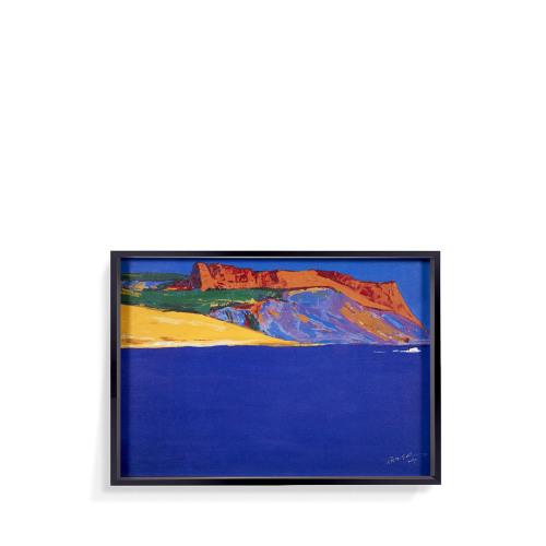 罗尔纯系列版画-地中海的宁静