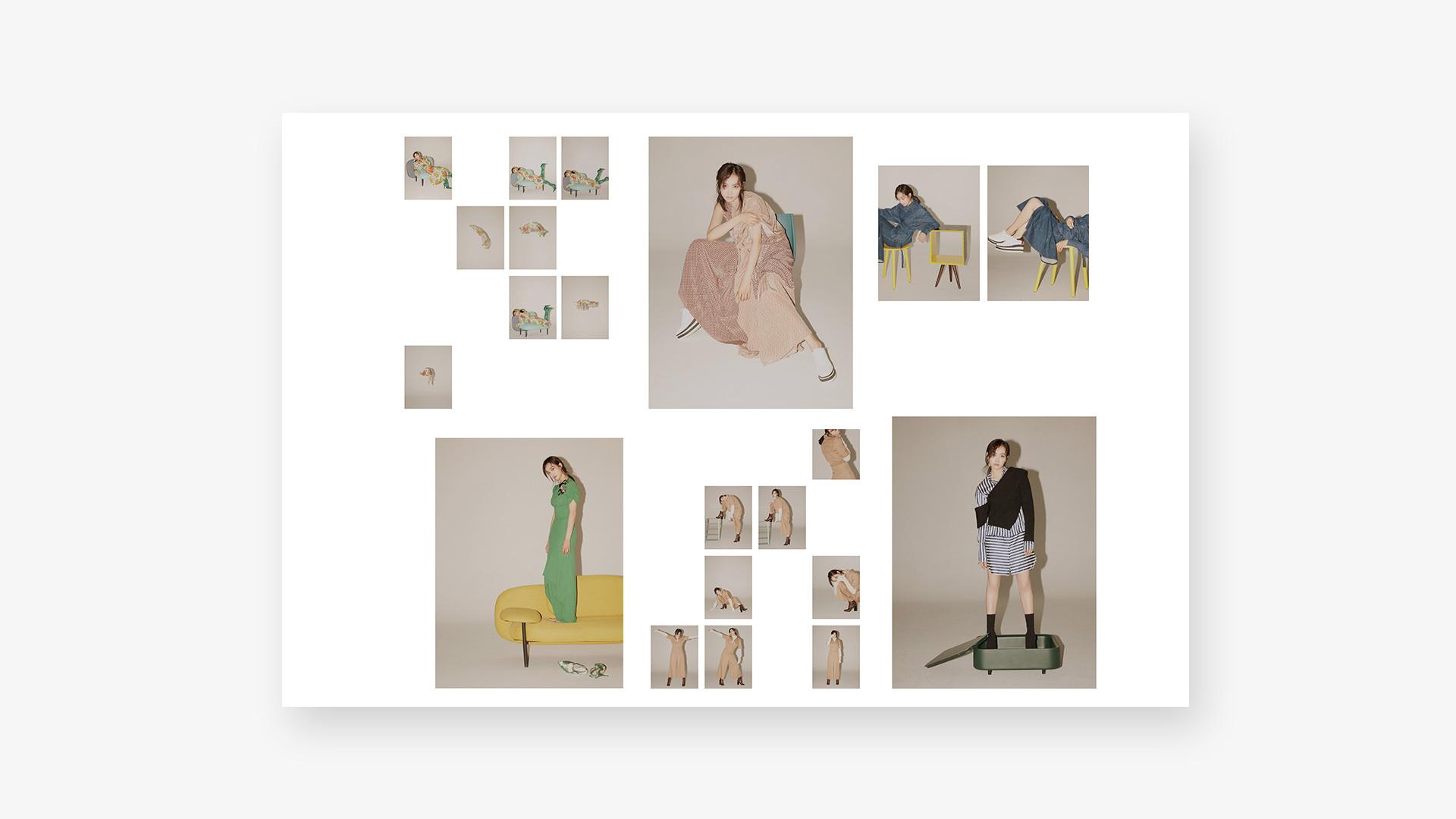 宋茜携手造作软糖沙发、画板格、谜盒、丝绸椅、内阁、豌豆椅六件大师作品,演绎时尚与摩登的巅峰对决,惊艳你的视觉