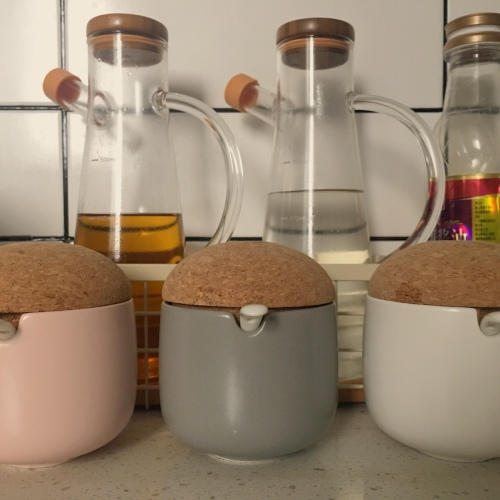 造作蘑菇调料罐精选评价_南方小毛