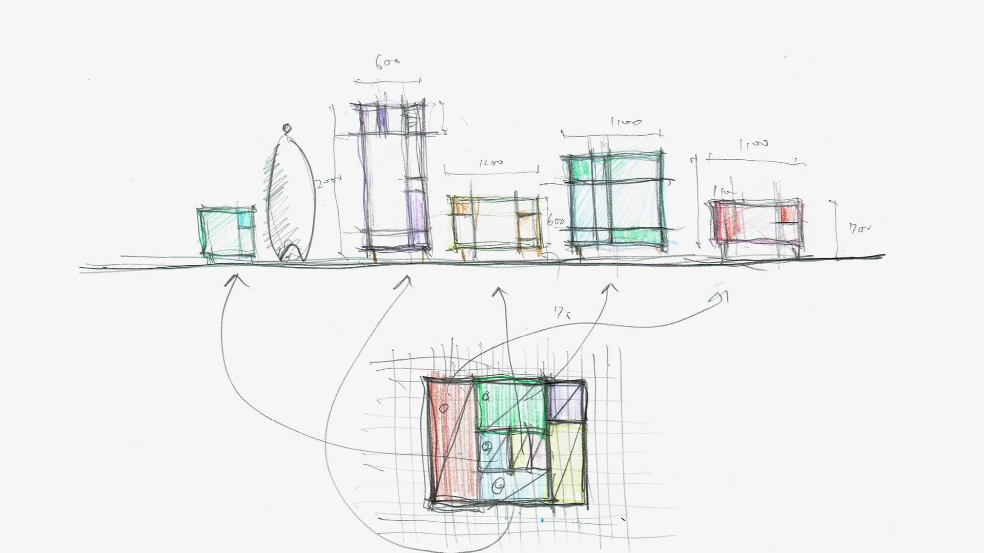 日式便当盒灵感<br/>一只小盒提炼全屋均衡比例