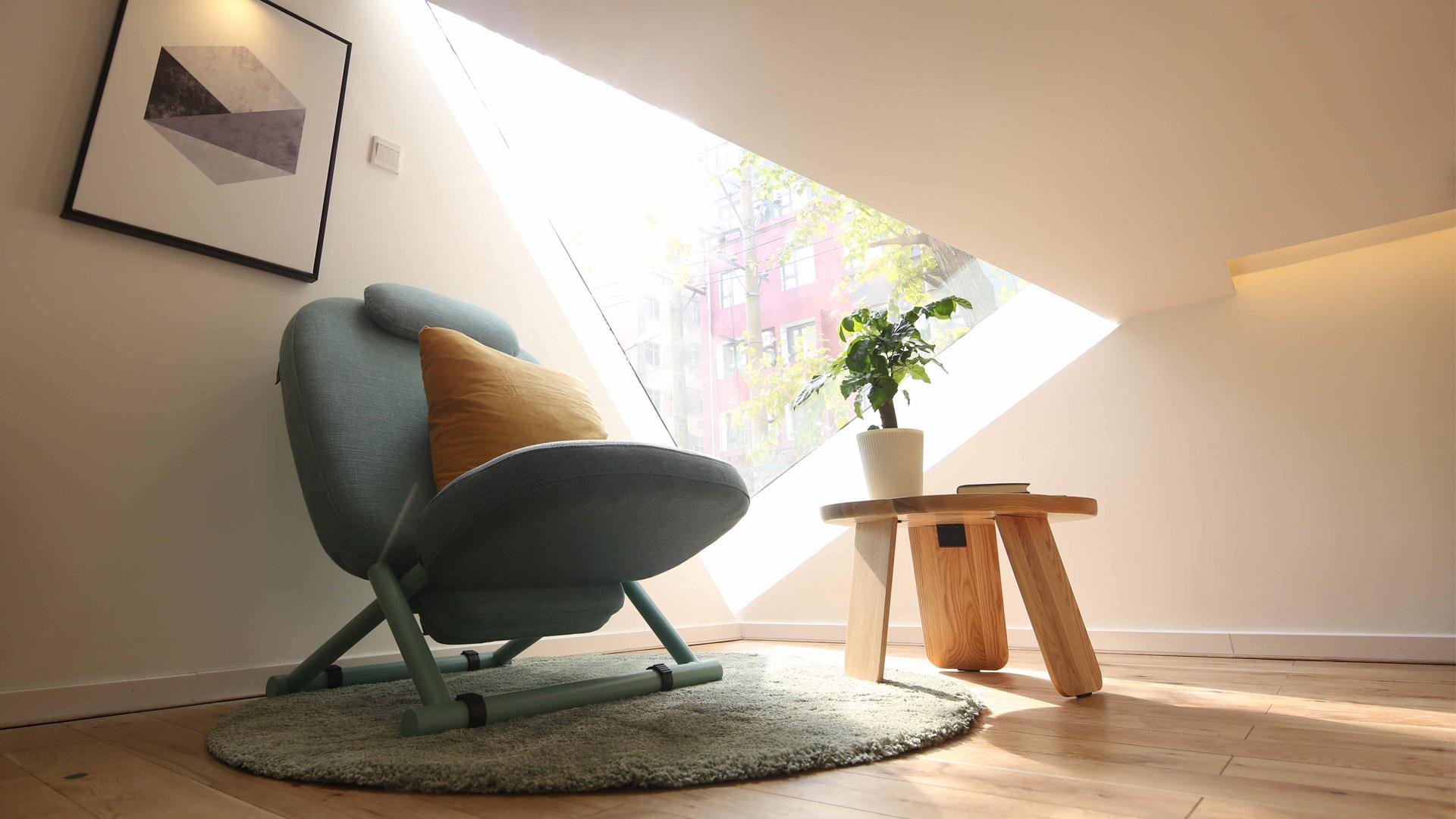 实景示范,一桌一椅搭建惬意角落
