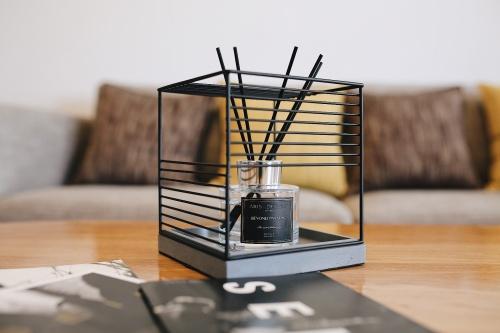 琥珀对造作光合氧气花瓶™发布的晒单效果图及评价