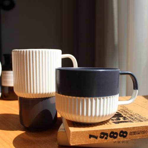 造作折简浸釉餐具组-杯子精选评价_ieii