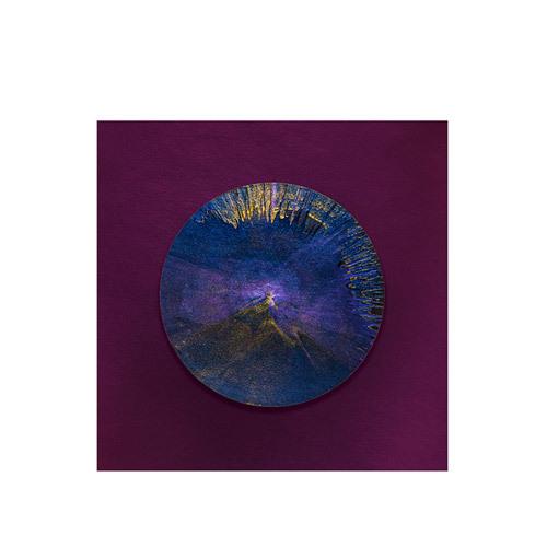旅行家限量画芯 | Julien Palast作品1号-矿石1(装裱后)装饰效果图