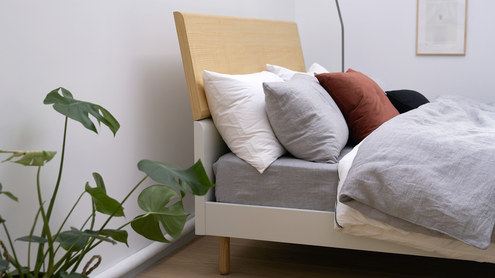 简洁质感,赠给卧室的雪后温暖