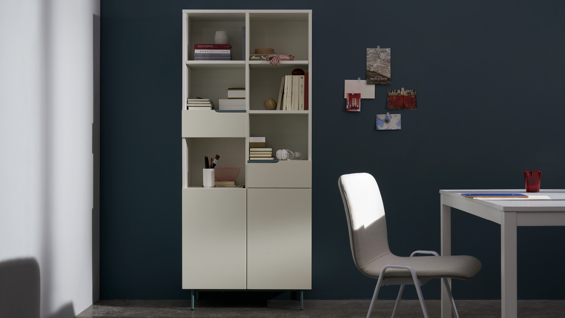 单体书架,节省更多书房空间