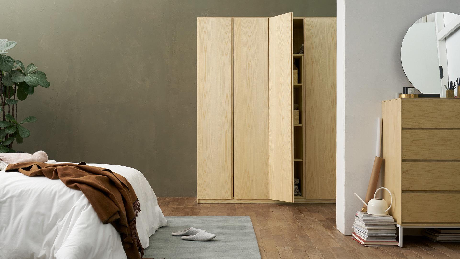 同系列画板连用,浸润全屋木质底色