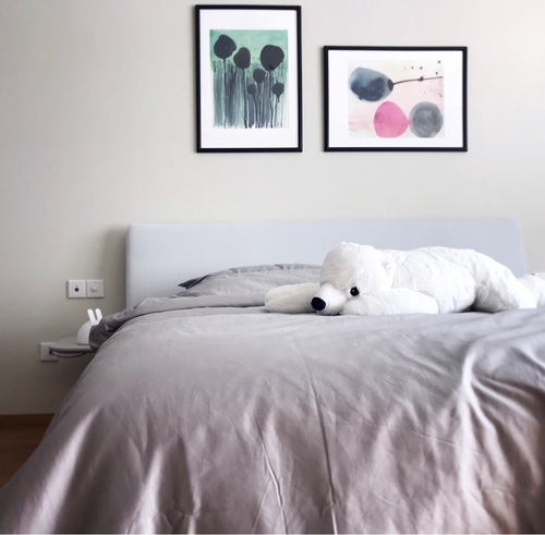 马蒂尔对造作有眠撞色高支4件套床品™发布的晒单效果图及评价