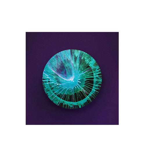 旅行家限量画芯 | Julien Palast作品3号-矿石3(装裱后)装饰效果图