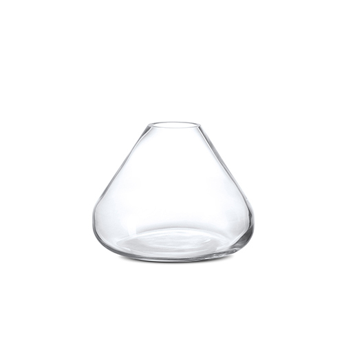 小山手工玻璃花瓶装饰
