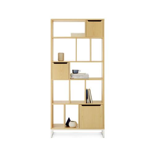 画板书架+储物盒组合A