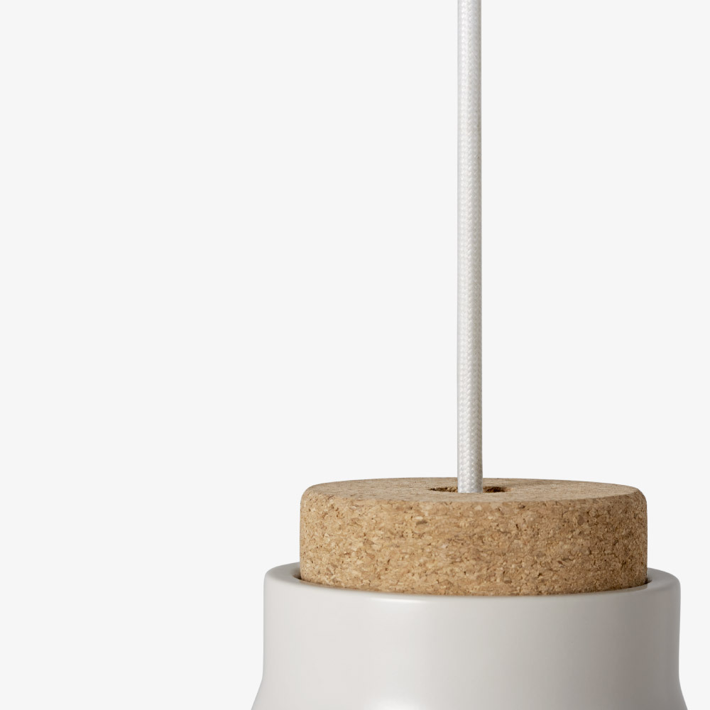 1.2m白色编织灯线