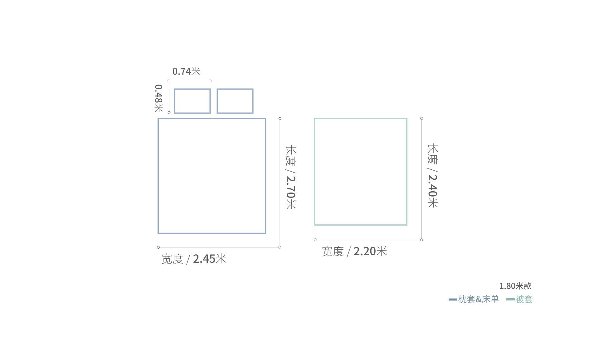 山茶双层纱床品1.8米床·床品效果图