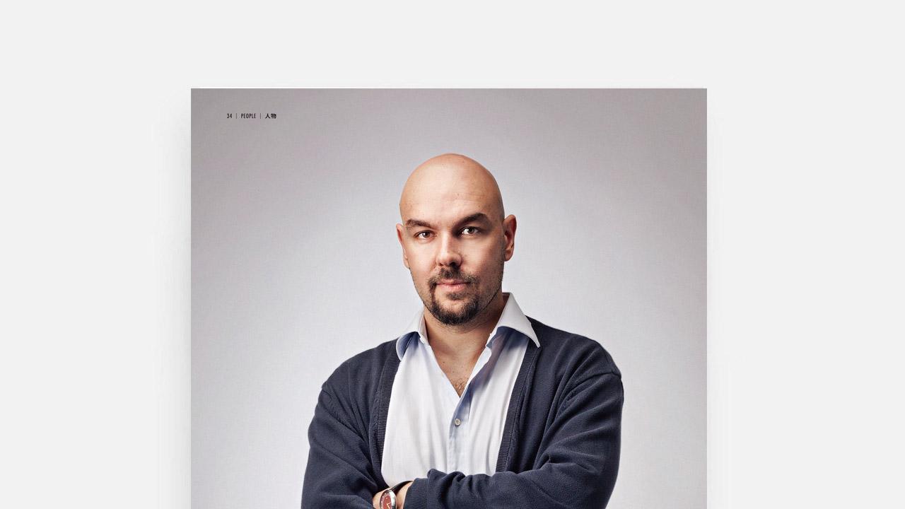 《今日家具》1月刊 | 专访Luca Nichetto