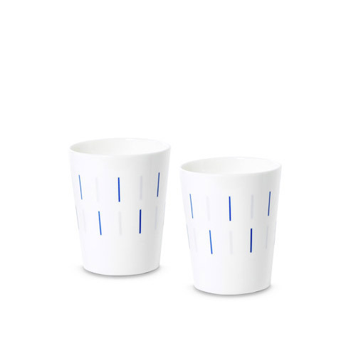 镜线西班牙瓷土餐具组 | 杯子套装