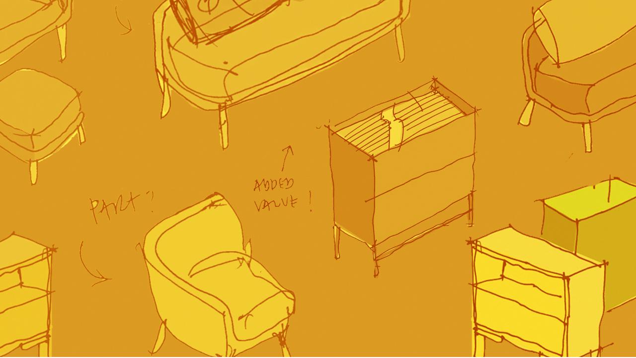 14位造作设计师手稿,关于产品最初的构思