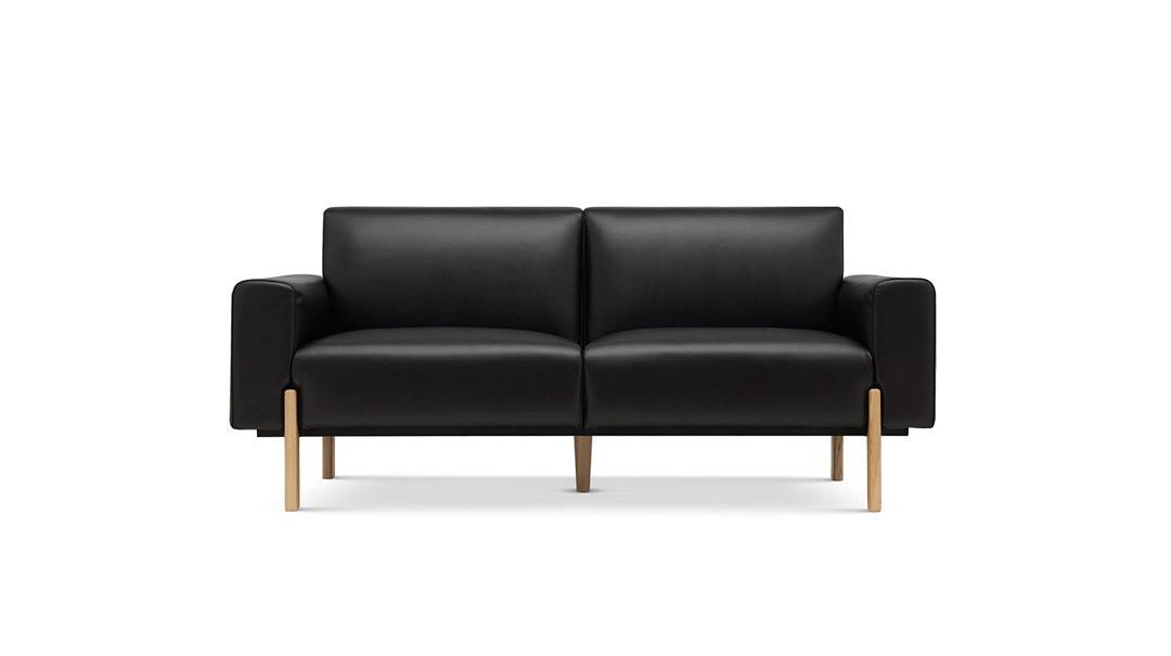 飞鸟沙发真皮版双人座沙发