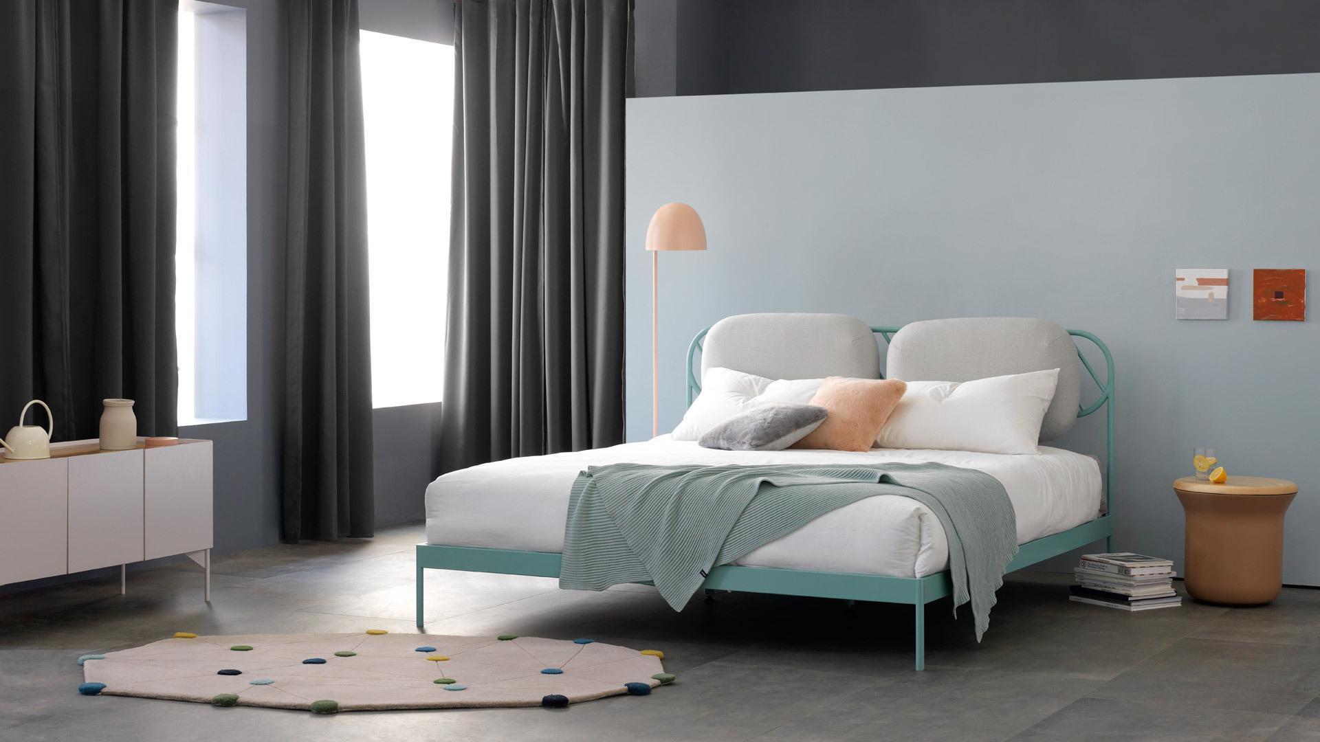 清爽豆綠,臥室的清甜底色