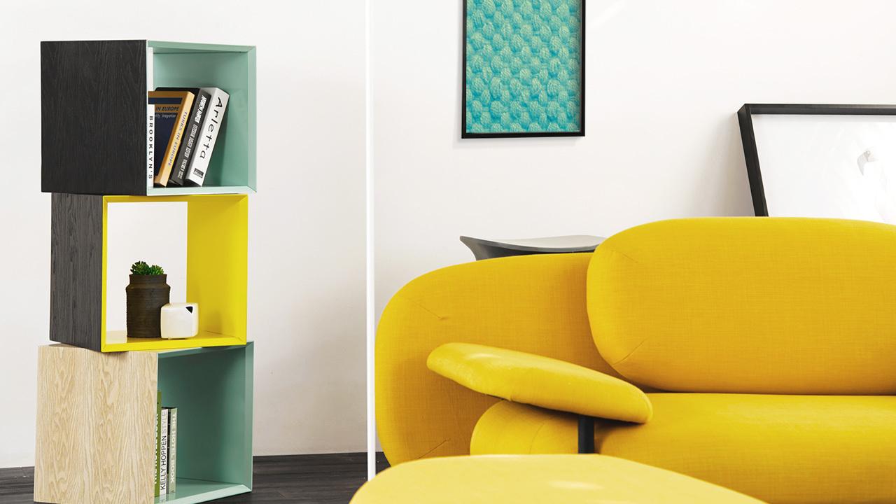 形态现代宜人,呼应整个居室色彩