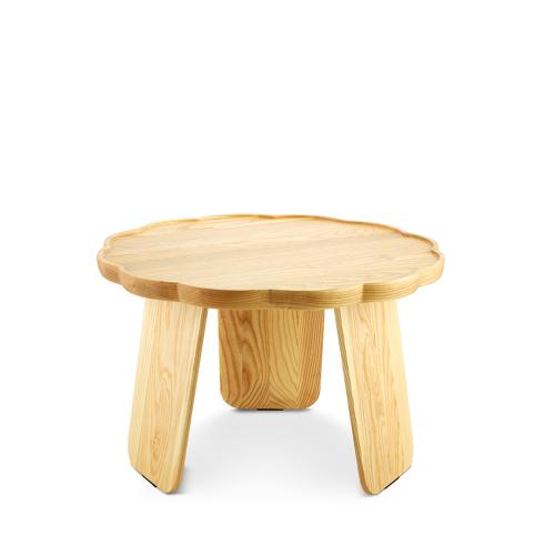 造作花间实木小桌™-矮桌多叶款