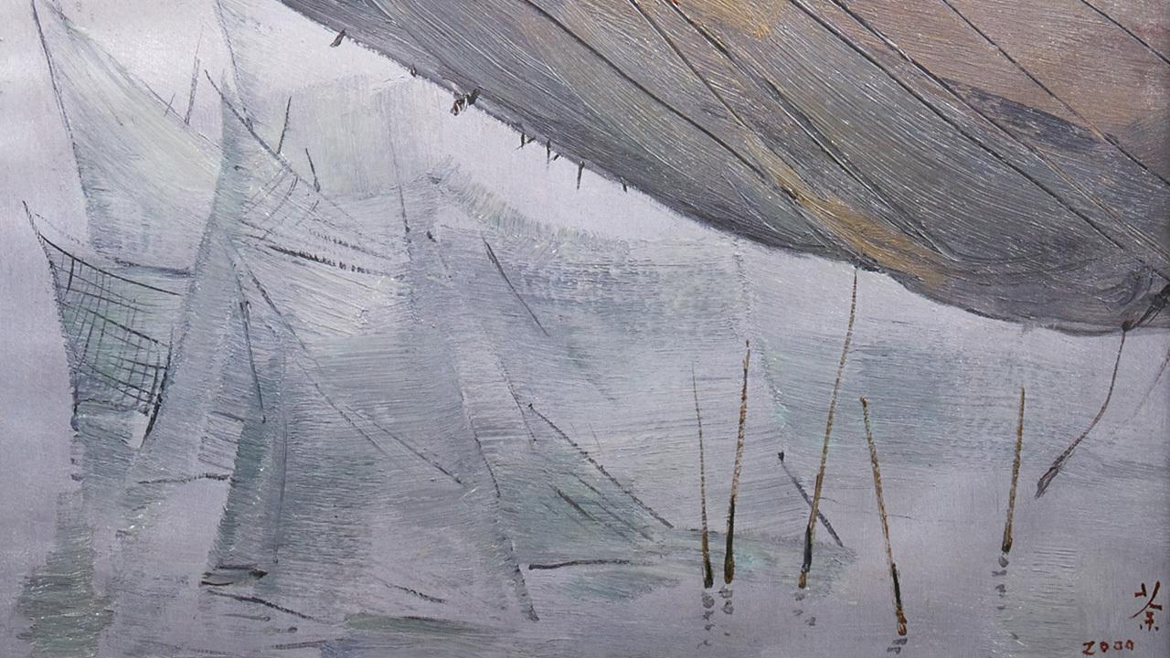 吴冠中系列版画 | 印象,以抽象的形态表现内心感受,传统中又见现代的意趣,让人耳目一新。