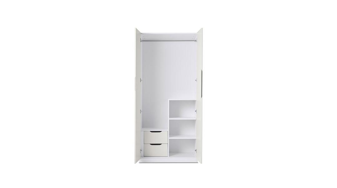 贡多拉两门衣柜A款柜架