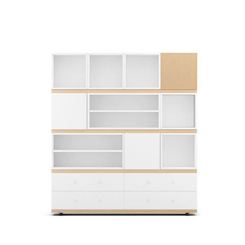 COSMO星格?書柜1.8米高書柜柜架效果圖