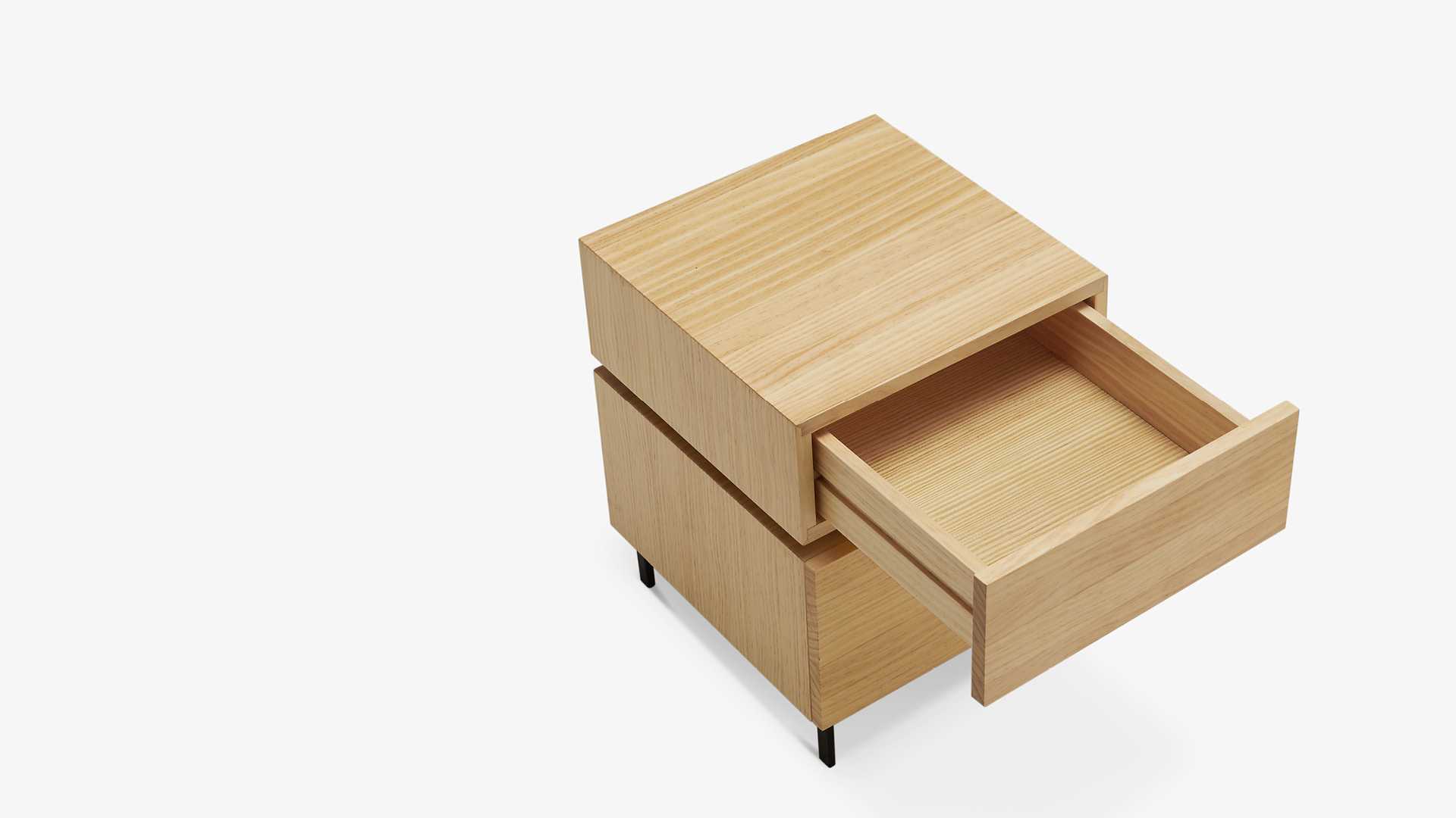 1柜1盒,讓容積最大化<br/>單層可收納更多