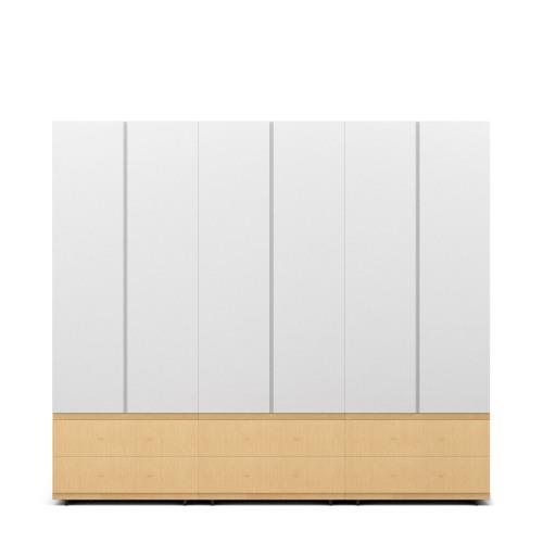 COSMO 6门衣柜-2.1米高