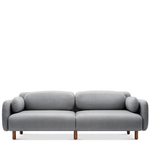 鹅卵石沙发-三人座