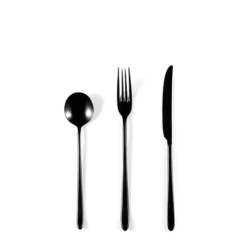 小黑裙餐具组 | 烟熏黑null