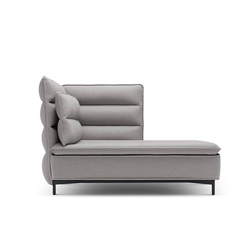 半月湾沙发高背贵妃座单扶手沙发效果图