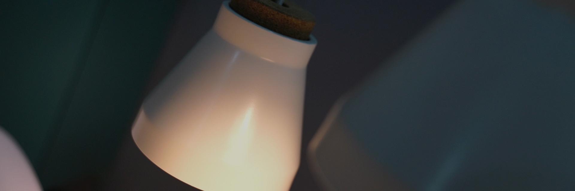 昼夜轮转诗意,把盏向晚柔光