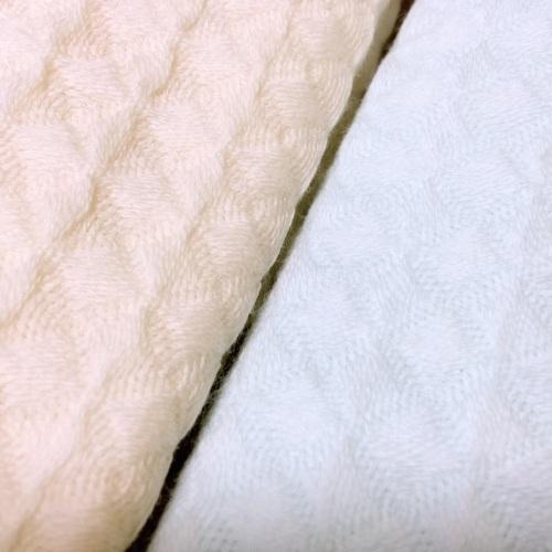 lily_棉花糖中空纱毛巾组面巾套装(蓝黄各1条)怎么样_3