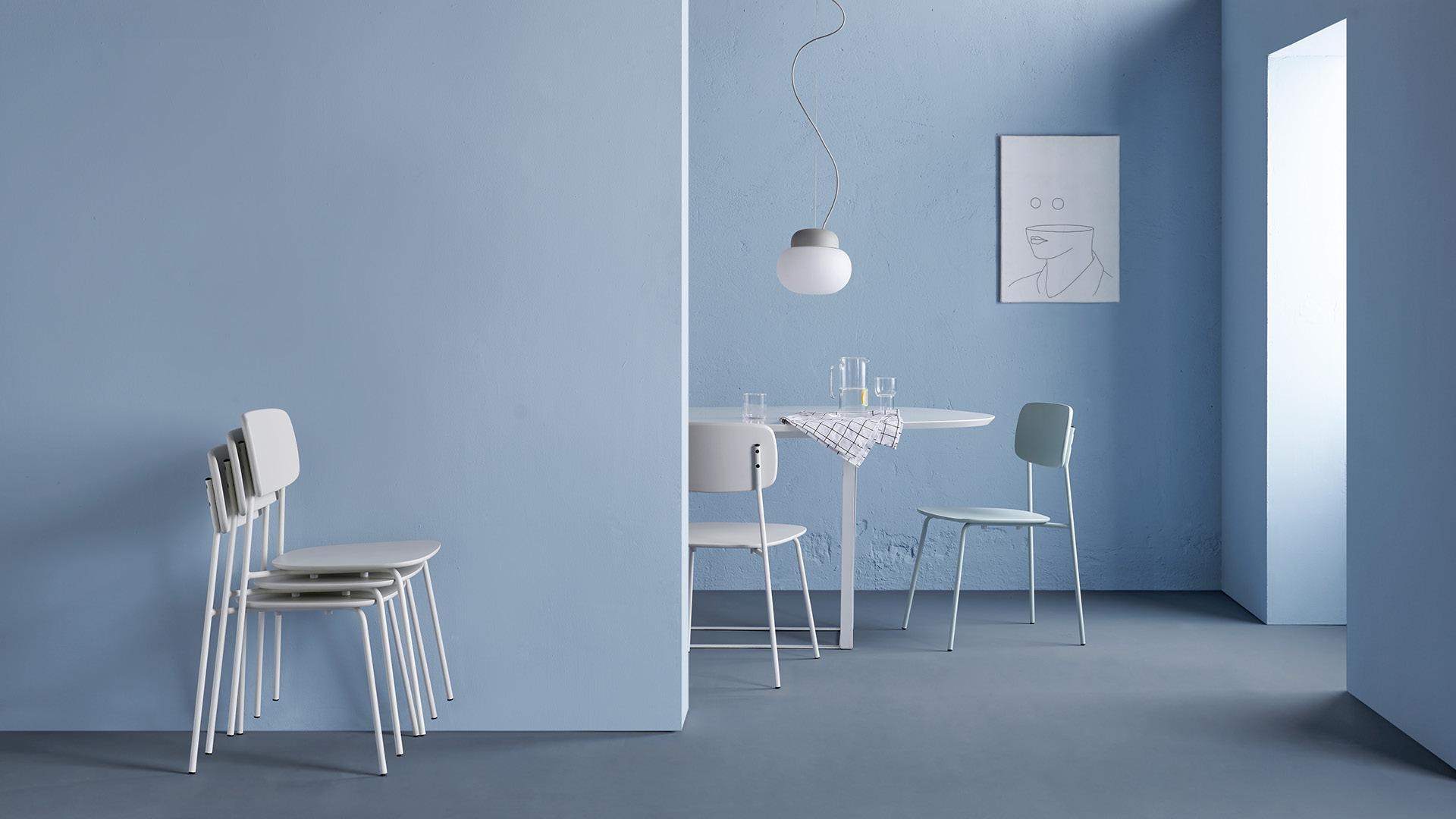 便捷收纳的轻盈小椅,为精致空间而生
