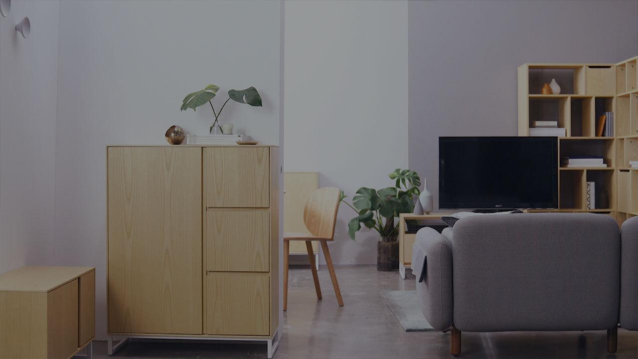 画板系列·铺满全屋的温润底色
