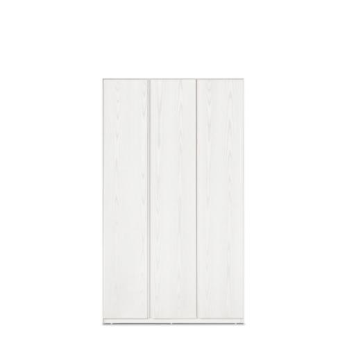 画板三门衣柜-无顶柜