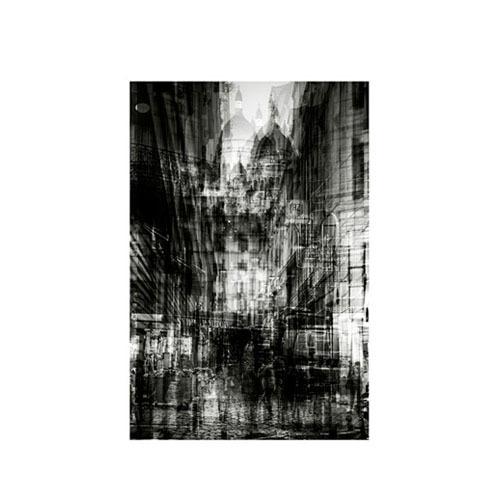 旅行家限量画芯 | Alessio Trerotoli作品1号-蒙马特(装裱后)装饰效果图