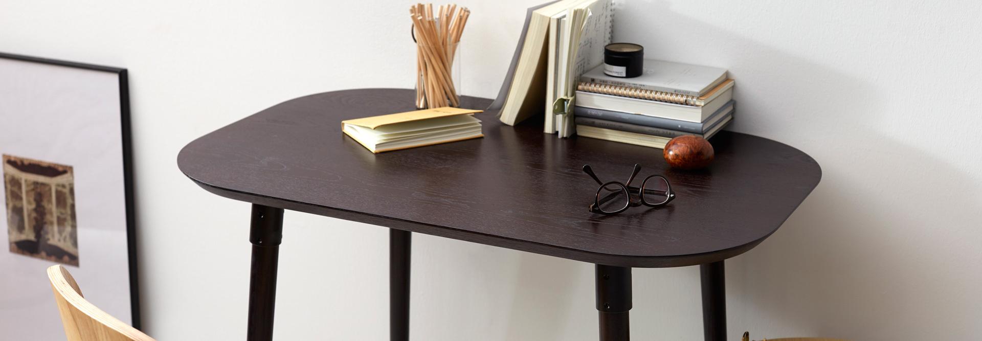 轻量含蓄单人桌,独处也优雅