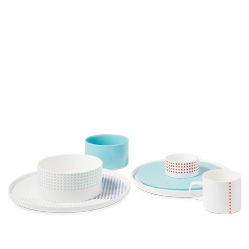 织彩餐具组
