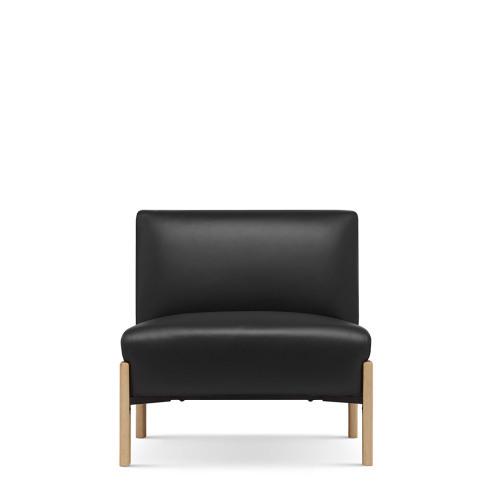 飞鸟沙发真皮版-无扶手单人座