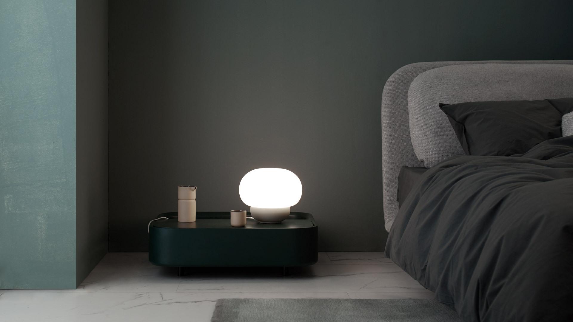 一团暖光,创造抚慰心情的入睡氛围