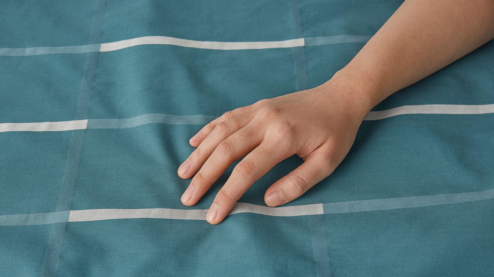 50X50纱支,柔和细腻,贴身呵护