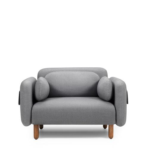 鹅卵石沙发-单人座