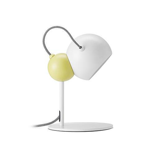 橄榄台灯圆球款灯具效果图